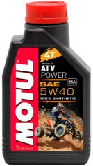 Масло Motul ATV POWER 4T 5W40, 1 литр, (850601, 105897)