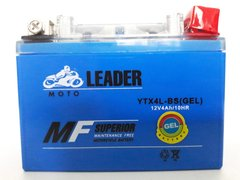 YTX4L-BS Leader MF Superior Gel Аккумулятор, 12V 4Ah, 50 A, 114x71x88 мм